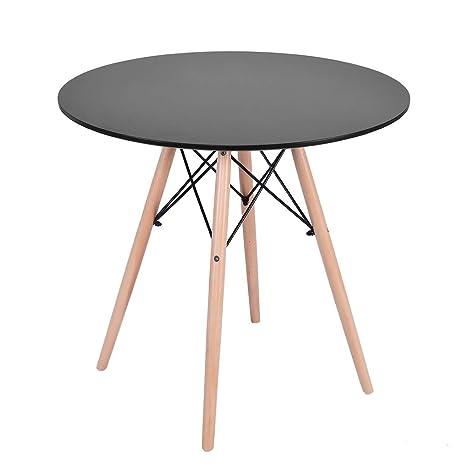 Amazon.com: Mesa de comedor de cocina, mesa auxiliar de café ...