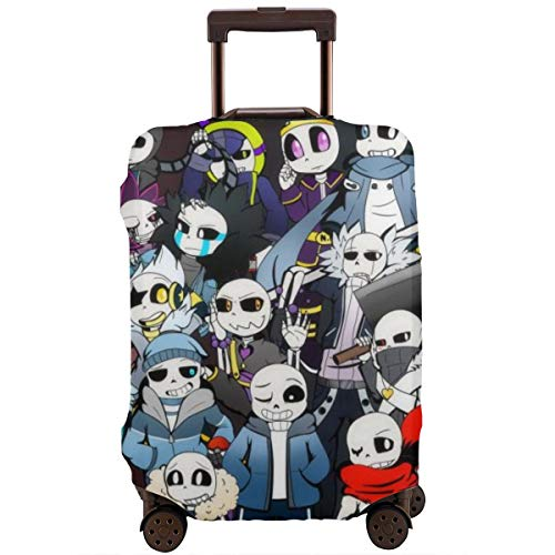 Amime Sans Multiverse Brawl Travel Luggage Cover Suitcase Protector Washable Baggage Luggage Covers Zipper Fits 22-24…
