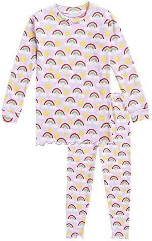 CWDkids Cotton Ruffle Long Pajamas