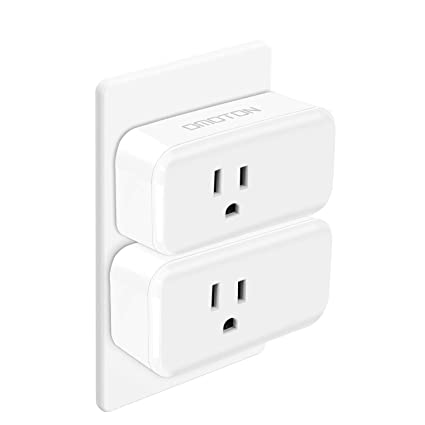 Omoton 2 Pack Mini Wifi Smart Plug Compatible With Amazon Alexa