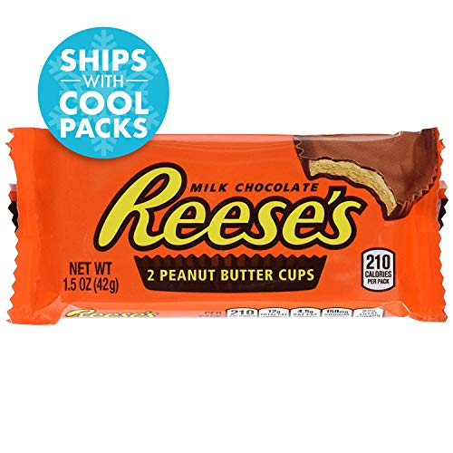 (Reese's Peanut Butter Cups Candy, Chocolate 1.5 oz Packages (Pack of 36))