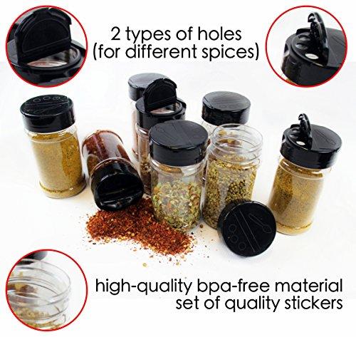 6 oz spice jars - 5