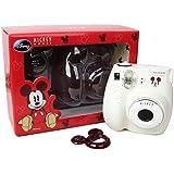 Fujifilm Instax Mini 7s White Instant Film Camera MICKEY MOUSE