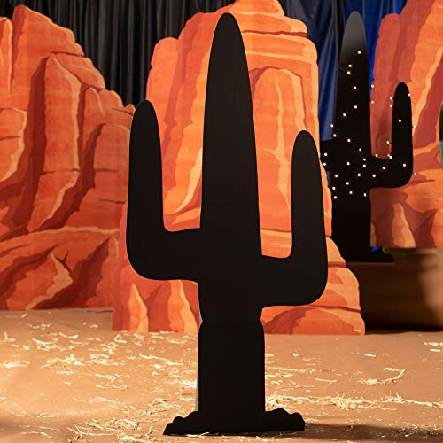 7 ft. 1 in. Saguaro Cactus Silhouette Standee