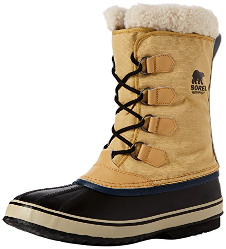 (Sorel Men's 1964 Pac Nylon Snow Boot,Curry/Black,11 M)
