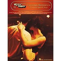 Canciones Romanticas: E-Z Play Today Volume 72