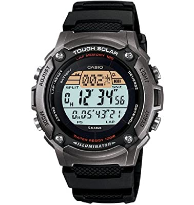 Casio Men's WS200H-1AVCF Tough Solar Powered Multi-Function Digital Sport Watch