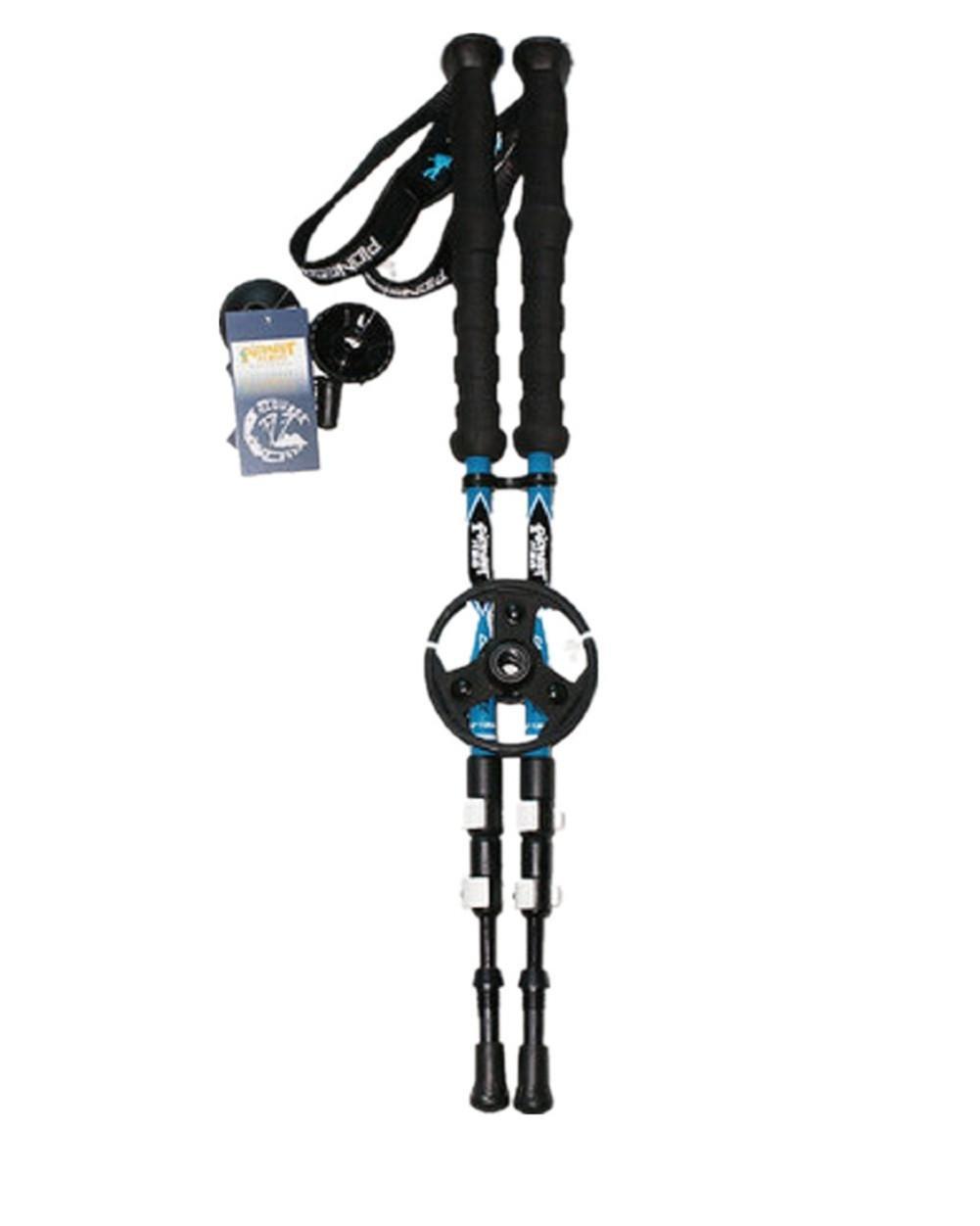 152 5000 Wandern Stick Carbon Fiber EVA Griff 3 Sektion Verstellbare Trekking Pole Leichte Ski Pole Quick Lock Natürliche Stoßdämpfer Walking Stick Alpenstock