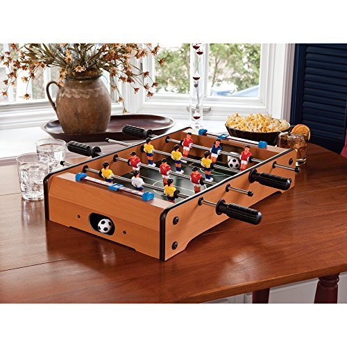 Toyshine Mid-Sized Football Table Soccer Game with 4 Rods