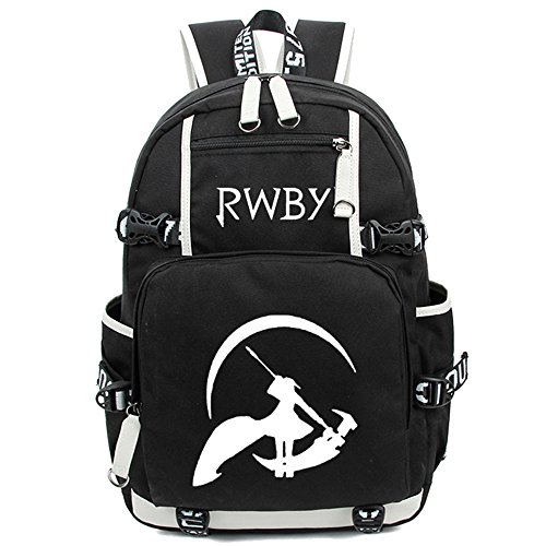 Siawasey Anime RWBY Ruby Rose Cosplay Luminous Backpack S...