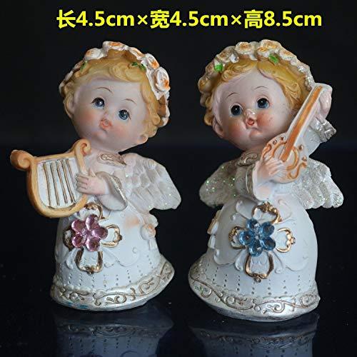 (Xennos Flower Fairy Band Angel Mental Sandbox Music Sand Table Angel Characters Small Ornaments Psychological Sandbar Figure Figurine)