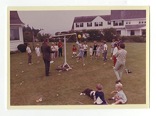 The Kennedy Family - Hyannis Port Cape Cod - Cecil Stoughton Vintage 1963 Photo