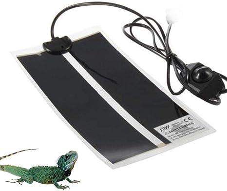 7W//14W//20W Reptile Adjustable Temperature Heater Mat Pad Lizard Heating