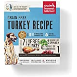 Honest Kitchen Human Grade Dehydrated Grain Free Turkey Dog Food  4 lb Box ??? Embark