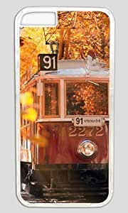 Autumn In Prague Thanksgiving Halloween Masterpiece Limited Design PC Transparent Case for iphone 6 by Cases & Mousepads