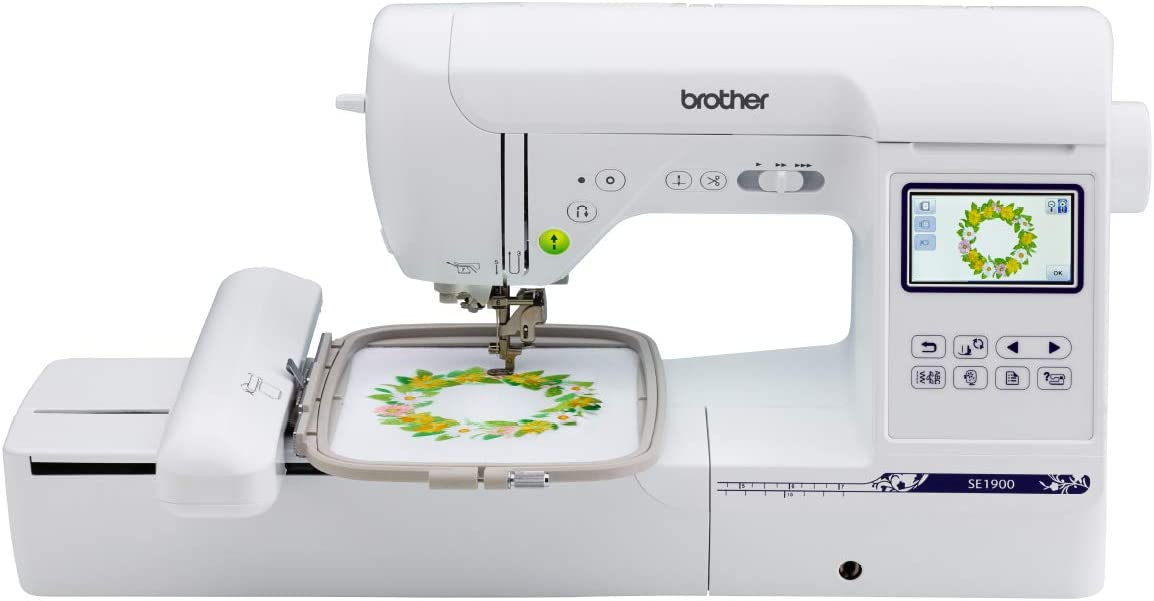 Best Sewing and Embroidery Machine: Brother SE1900