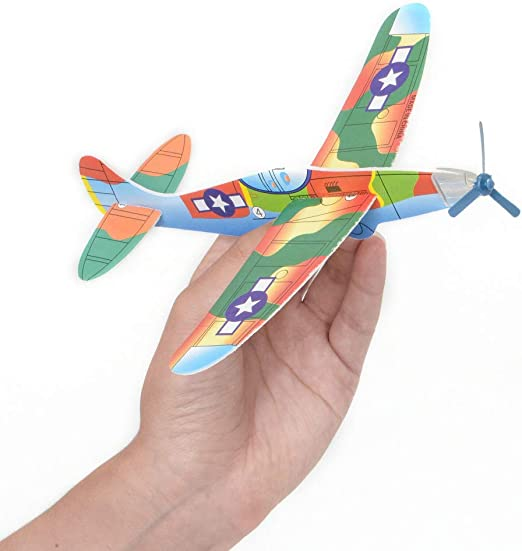12 Pack Glider Plane Toys In Bulk For Kids A 1 Ct