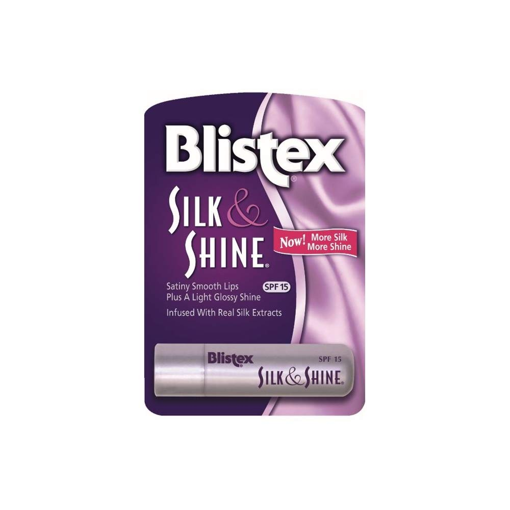 Blistex Silk And Shine Lip Protectant Spf 15 Sunscreen (Pack of 3) [Misc.]