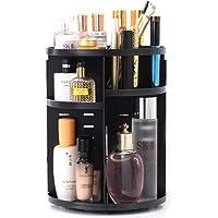 ZUMECA Organizador del Maquillaje, 360 Grados Que Giran la Joyería Ajustable y el Soporte de Exhibición Cosmético…