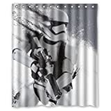 """LOVELIFE Star Wars The Force Awakens Custom Shower Curtain Soft (with hooks & holes) Polyester & Waterproof Standard Size 60"""" X 72"""""""