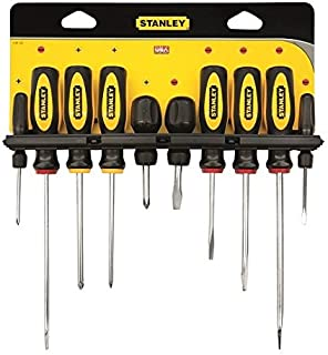Stanley 0-63-022 Juego de Destornilladores, Multicolor: Amazon.es ...