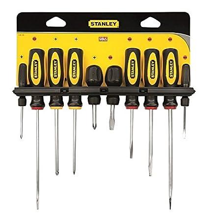 STANLEY 0-60-100 - Juego destornilladores basic 10 piezas
