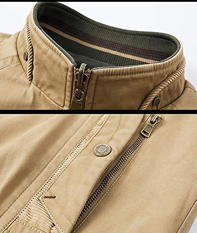 Męska kurtka wiosenna, nowa dwustronna kurtka męska, styl casual, pełny suwak, stÓjka, długi rękaw, kardigan, outwear C-2XL: Baumarkt