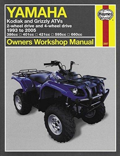 amazon com haynes atv manual yamaha m2567 automotive rh amazon com clymer vs haynes atv manuals haynes atv manual polaris