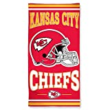 "Kansas City Chiefs Fiber Reactive Beach Towel 30""x60"""