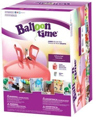 """Balloon Zeit Jumbo 12"""" Helium Tank Blend Kit (18X16X12)"""