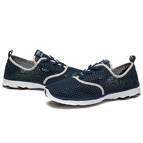 Darkblue Shoe Drying Women's Up Quick NDB Lace Mesh Water Aqua PwZxqnA7Cz