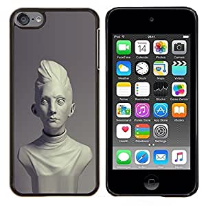 Planetar® ( Roma Antigua Época Clásica busto de mármol ) Apple iPod Touch 6 6th Touch6 Fundas Cover Cubre Hard Case Cover