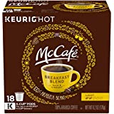 McCafé Breakfast Blend Coffee K-Cup Pods 72 Count (4 Pack of 18)