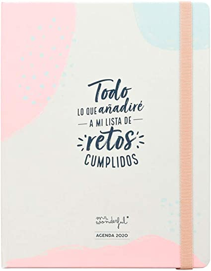 Mr. Wonderful Agenda anual clásica 2020 Semana vista - Todo lo que ...