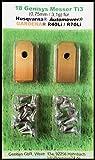 !Titan! Genisys® Messer (Ti3=0,75mm) und Schrauben für Husqvarna Automower®, Gardena® Mähroboter