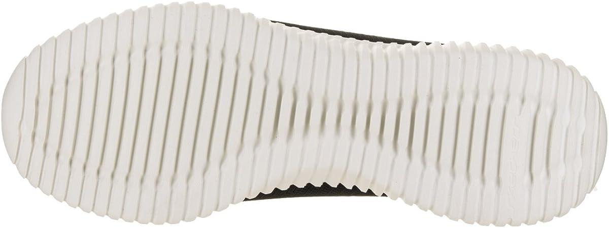 Skechers mens 52643 Elite Flex - Lasker Black White