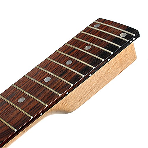 electric guitar neck for ibanez parts replacement maple with rosewood fretboard ebay. Black Bedroom Furniture Sets. Home Design Ideas