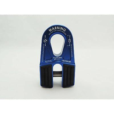 Factor 55 FlatLink E (Expert) Shackle Mount Assembly in Blue: Automotive