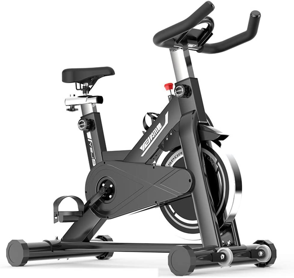 Bicicleta de ciclismo de ejercicio, bicicleta de ejercicios de interior, equipo de entrenamiento de entrenamiento Cojín de asiento cómodo Silla de montar para gimnasio de oficina en casa (deporte)