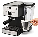 Espresso Machine & Cappuccino Maker with Milk