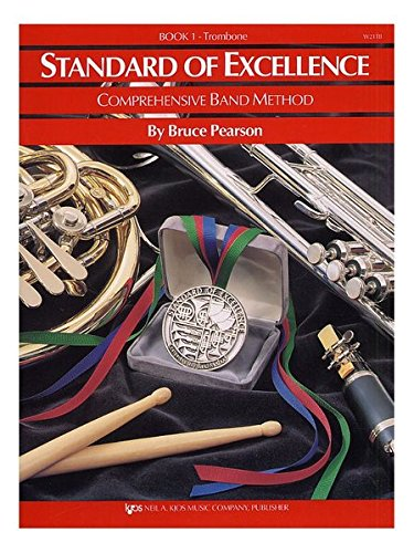 - W21TB - Standard of Excellence Book Only - Book 1 - Trombone (Standard of Excellence Series)