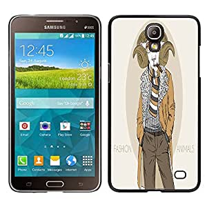 Dragon Case - FOR Samsung Galaxy Mega 2 - ?listeningto strange music - Caja protectora de pl??stico duro de la cubierta Dise?¡Ào Slim Fit