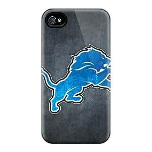 Iphone 4/4s HEO15256dDBh Custom High-definition Detroit Lions 10 Pictures Shock-Absorbing Hard Phone Cases -JamieBratt