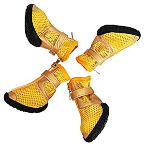 Dog WaterProof Botas WaterProof Dog Dog Zapatos for Medium Large Dogs d69a7c