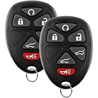 Discount Keyless Replacement Key Fob Car Remote Compatible with OUC60270, 15913427 (2 Pack)