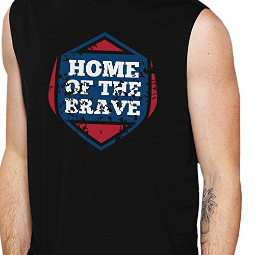 Home Pull Brave The Taille Of Homme Printing Unique 365 Manche Sans Tq00Sw