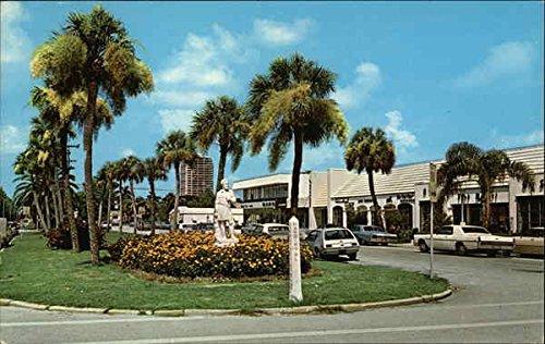 St. Armands Key Shopping Area Sarasota, Florida Original Vintage - Florida Shopping Sarasota