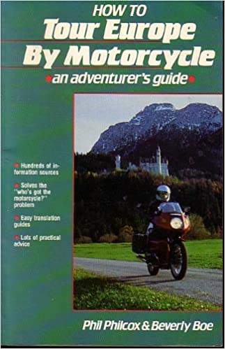 Book How to Tour Europe by Motorcycle: An Adventurers Guide