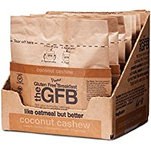The Gluten Free Bar High Protein Oatmeal Power Breakfast, Coconut Cashew, 6 Count