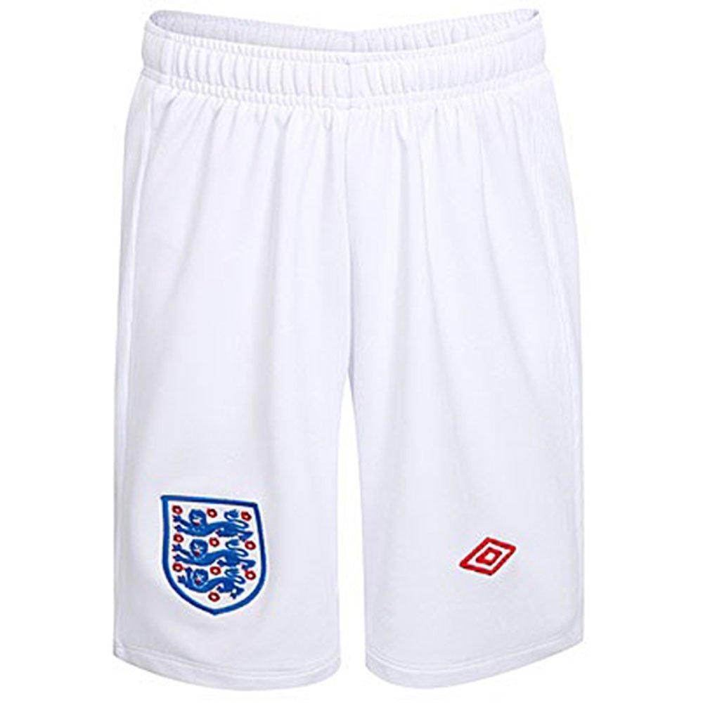 England FC 2009/10 Football Kids Training Shorts - White Umbro